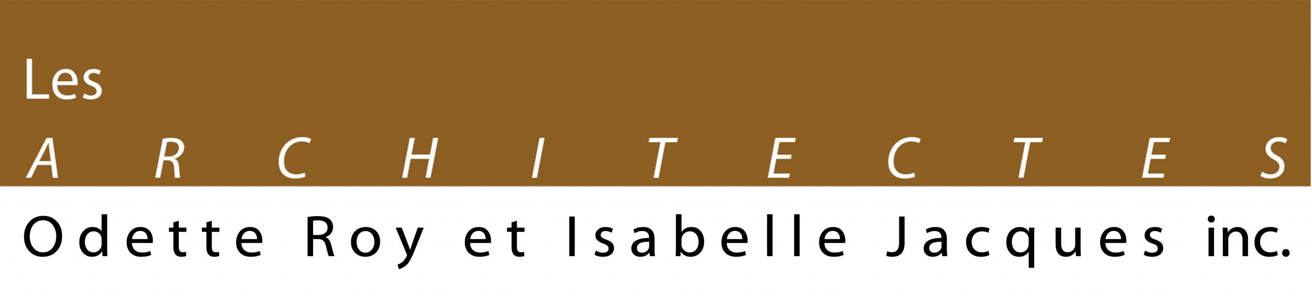 Les Architectes Odette Roy et Isabelle Jacques inc.
